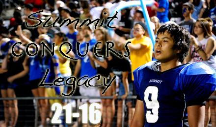 Jags Use Turnovers to Beat Legacy