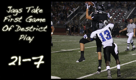 Jags Take First Game of District Play