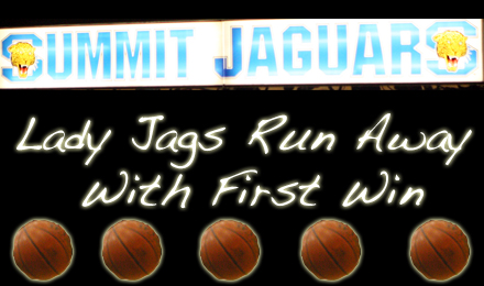 Lady Jags Run Away Late, Get First Win