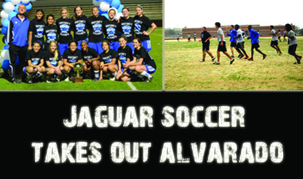 Jaguar Soccer Takes Out Alvarado