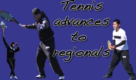 Tennis Advances to Regionals