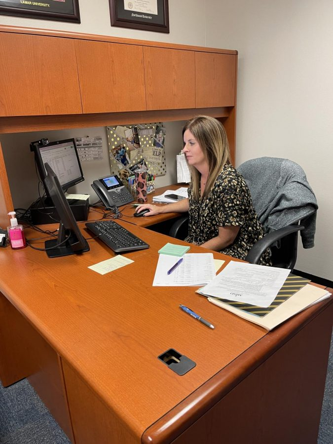 New counselor helps students plan their future